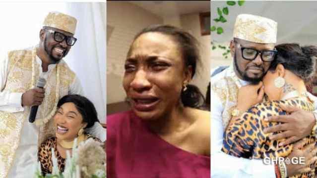 Audio of Tonto Dikeh begging her ex-boyfriend for a comeback hit social media