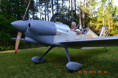 Tony Spicer's First Flight in the Panther