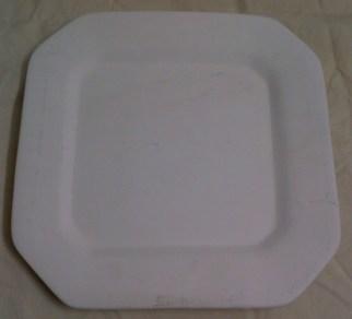 Raw Ceramic Plate
