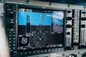 Garmin digital avionics panel