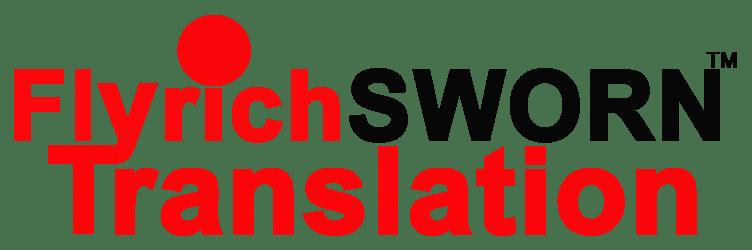Flyrich SWORN Translation