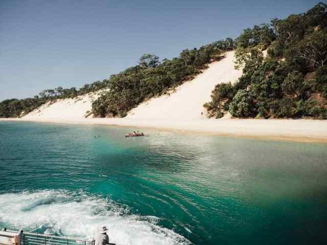 A spectacular formation of shipwrecks just off the beach near Tangalooma Island Resort makes for an amazing marine wonderland. Take a day trip from Brisbane, Australia or go camping overnight on the beaches and feed the dolphins at sunset. #brisbane #beaches #moretonisland #shipwrecks