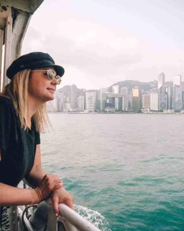 Hong Kong star ferry views