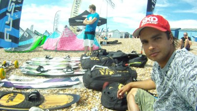 Abe Alzouman and Greg Chilton at National Watersports Festival