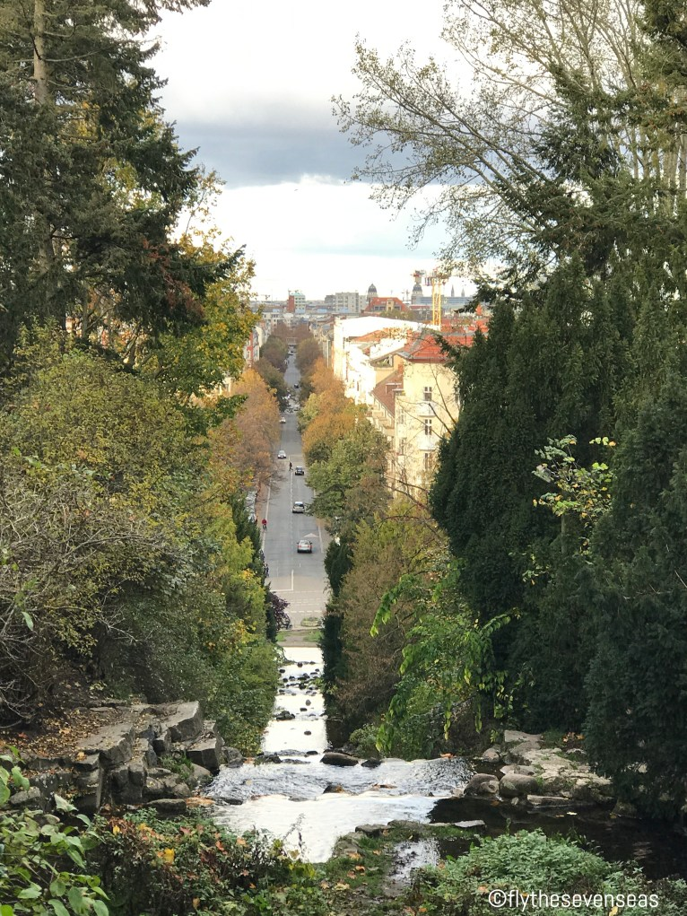 The view from Viktoriapark