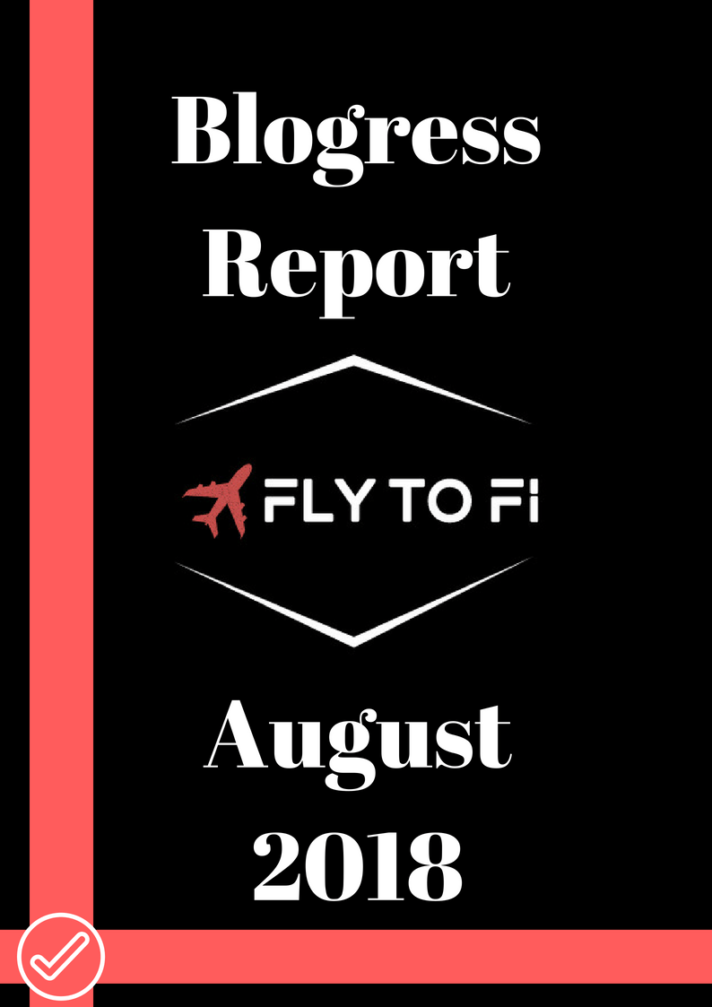 Blogress Report - August 2018