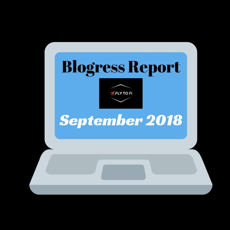 Blogress Report - September 2018