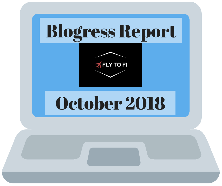 Blogress Report - October 2018