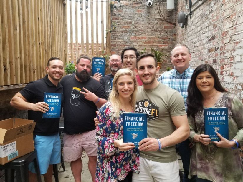 Financial Freedom Book Tour Montgomery Meetup