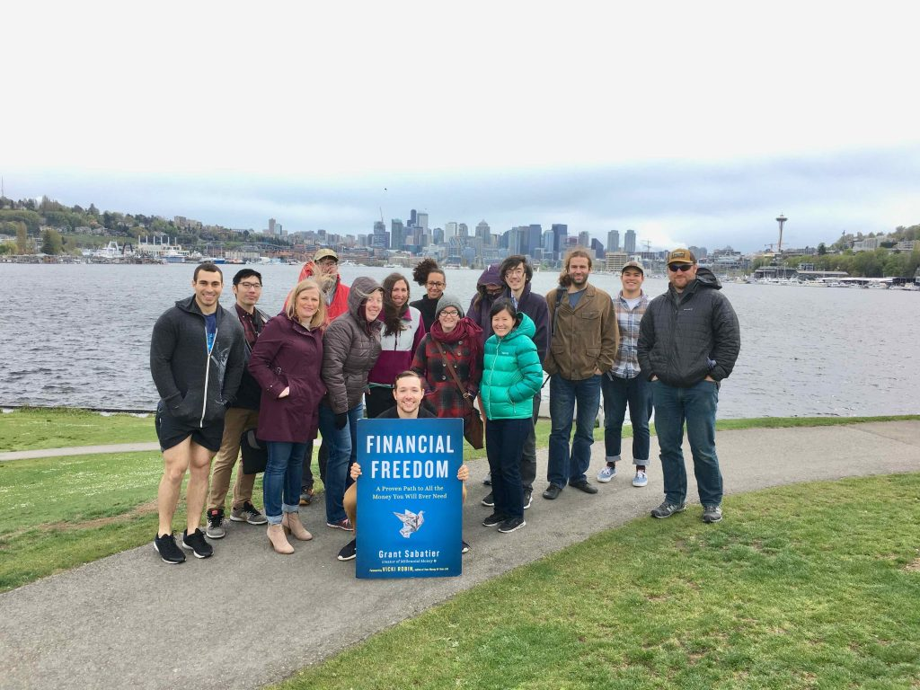 Financial Freedom Book Tour Gasworks Park Featured Image
