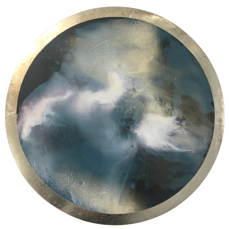"Karen Fitzgerald's art, ""Phantom Light"""