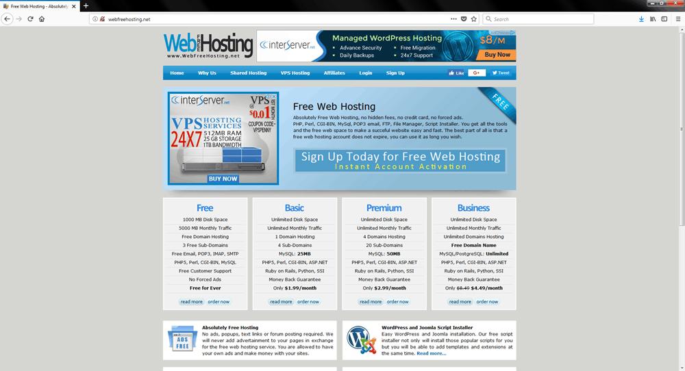 Хостинг бесплатно cgi mysql не работают сервера одного хостинга