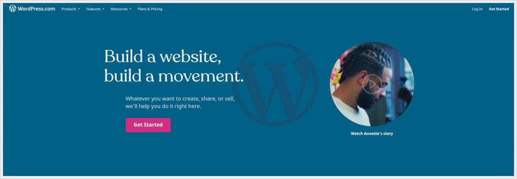 wordpress.com - free wordpress hosting