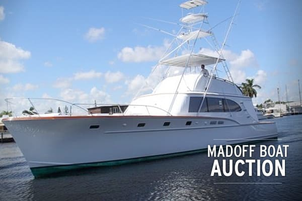 Madoff Boat Auction