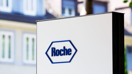 The headquarters of Roche AG in Basel, Switzerland.  Third quarter sales beat forecasts as Ocrevus shines 101023148 173721050r