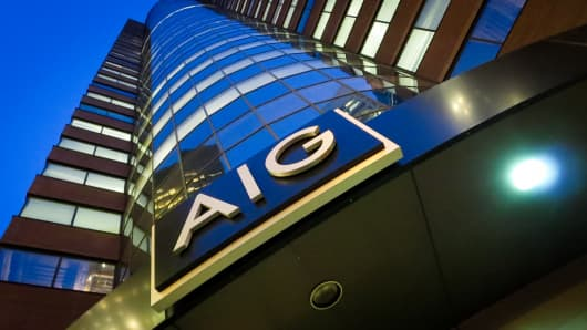 AIG headquarters in New York City.
