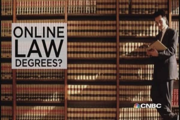 Accredited online law school