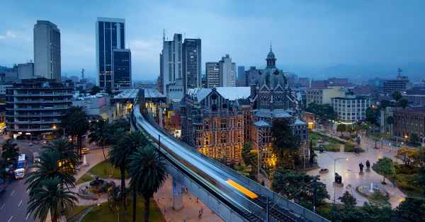 Three growing start-up cities in South America