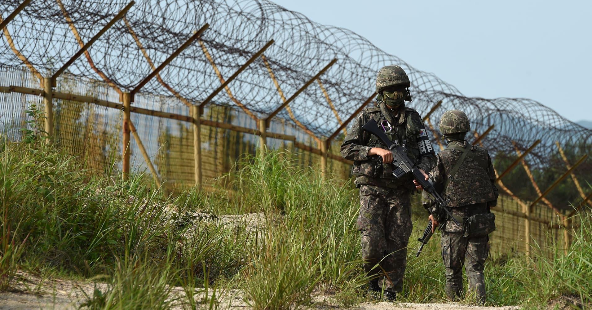 Image result for DMZ coreea photos