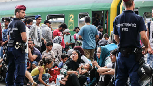 By numbers: Europe's migrant crisis