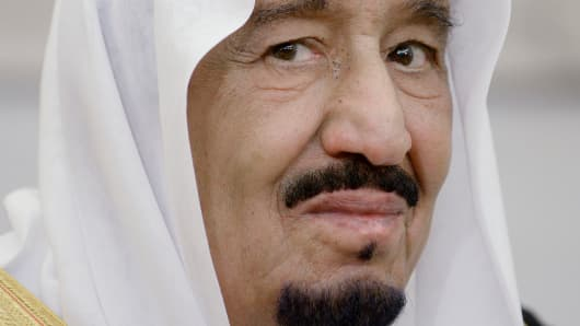 King Salman bin Abd alAziz of Saudi Arabia