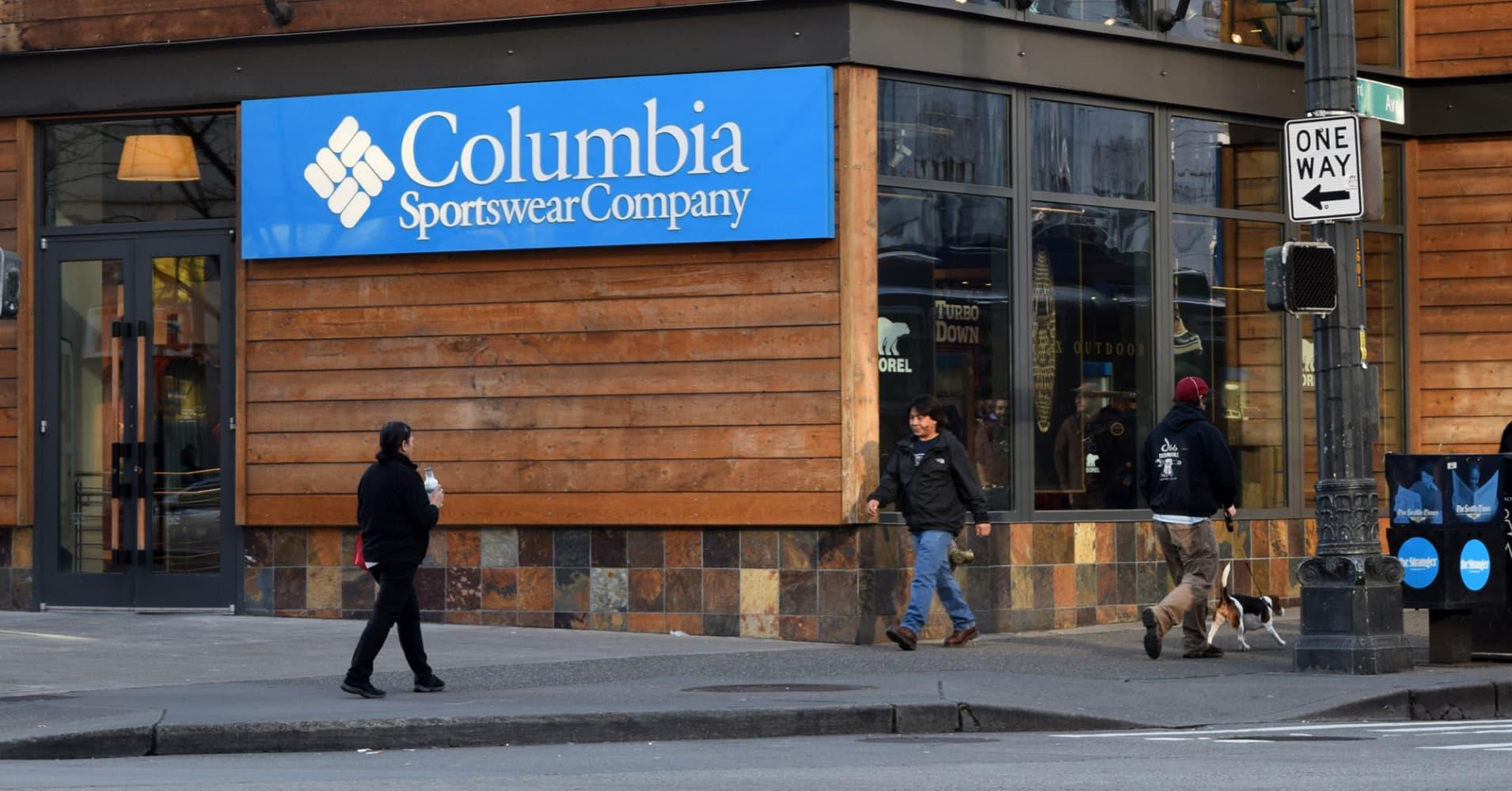 Columbia Sportswear Sets Aggressive Growth Target