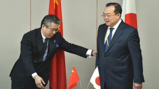 How Japan sees China's island-building 'problem'