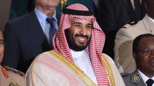 Saudi Defence Minister and Deputy Crown Prince, Mohammed bin Salman