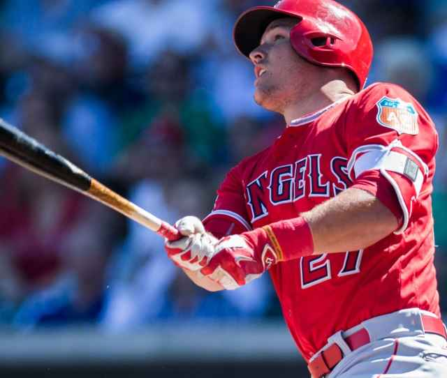 Mike Trout Getty Images