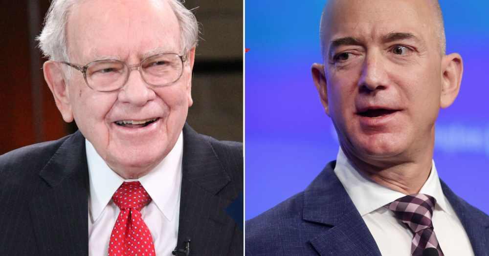 CNBC - Warren Buffett & Jeff Bezos