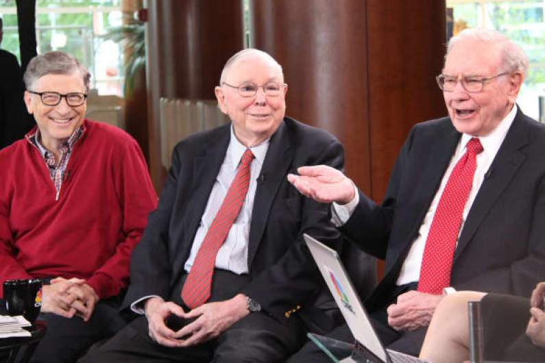 Bill Gates, Charlie Munger and Warren Buffett
