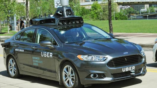 %name Uber should be stopped from using self driving technology, Alphabet asks the federal court   strong evidences appeared against Uber
