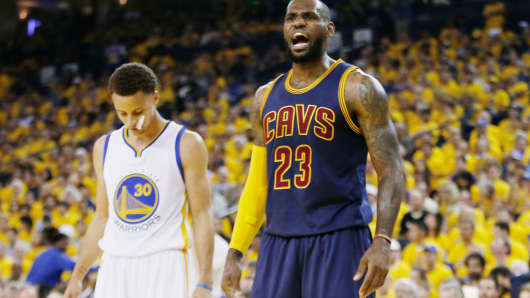 Image result for cavs warriors game 7