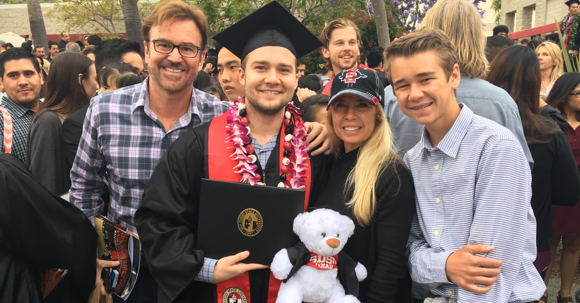 More College Grads Move Back Home With Mom And Dad