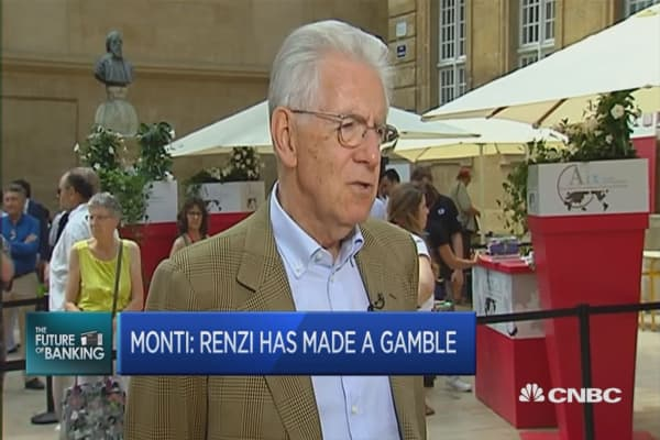 Italy needs more reforms: Former PM Mario Monti