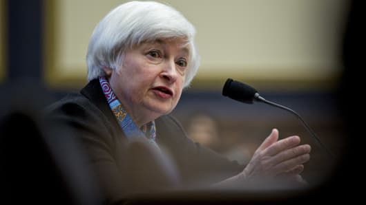 Janet Yellen, chair of the U.S. Federal Reserve.