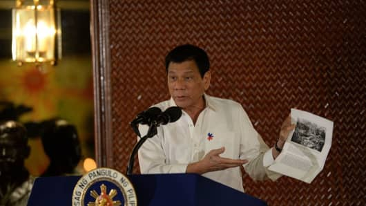 Philippine President Rodrigo Duterte ratcheted up his feud with the U.S. on September 12, ordering all U.S. special forces out of the southern Philippines where they have been advising local troops battling Muslim extremists.