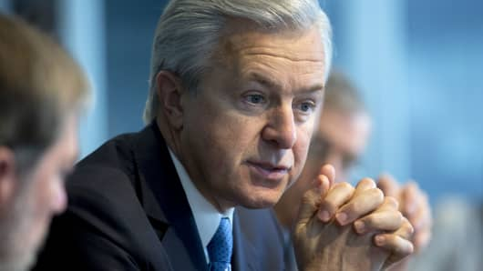 John Stumpf, chairman, president and chief executive officer of Wells Fargo & Co.