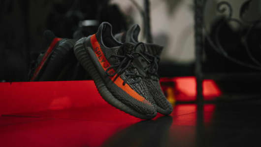 Image result for Yeezy Boost 350 V2 GETTY IMAGE