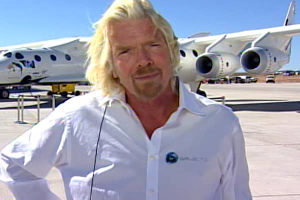 Billionaire Richard Branson learned a key business lesson playing tennis