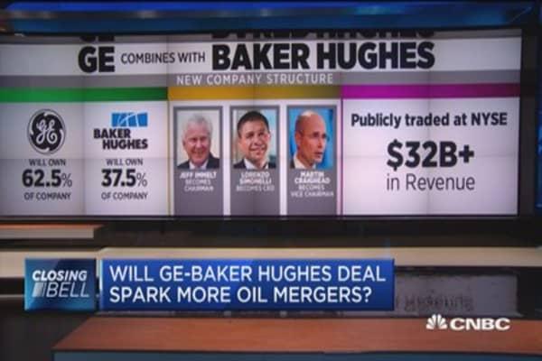 Risultati immagini per GE Baker Hughes deal