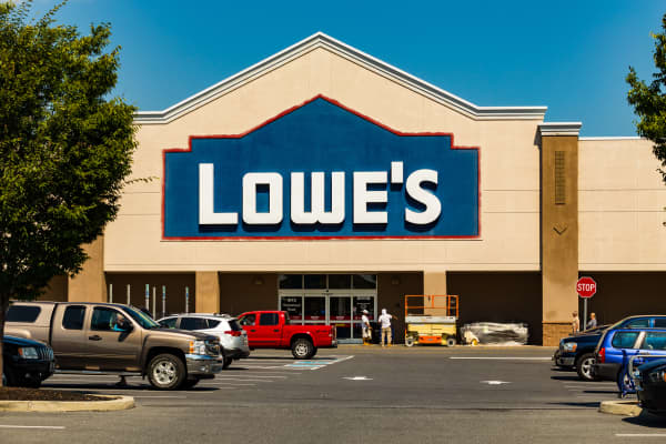 Lowes Retail Store Sign