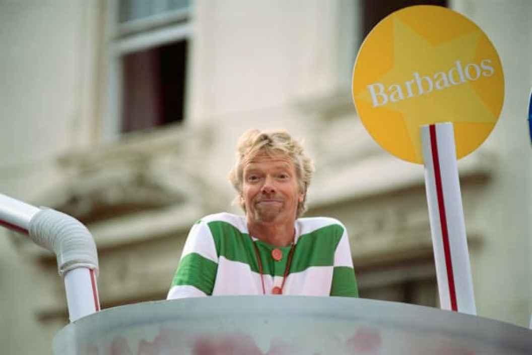 El fundador de Virgin Group Richard Branson