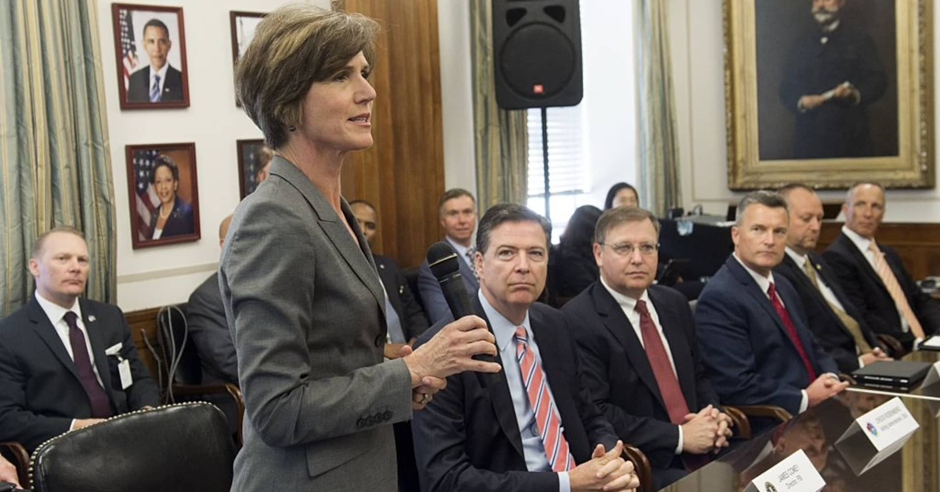 Image result for PHOTO OF SALLY YATES