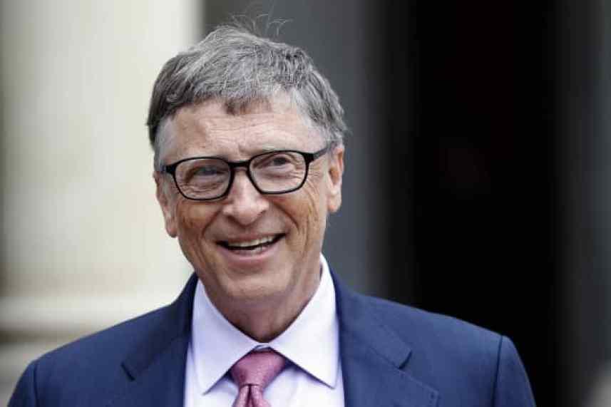 Bill Gates, cofundador de la compañía Microsoft y cofundador de la Fundación Bill y Melinda Gates.