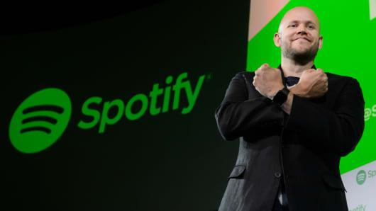 Daniel Ek, director ejecutivo y cofundador de Spotify AB.