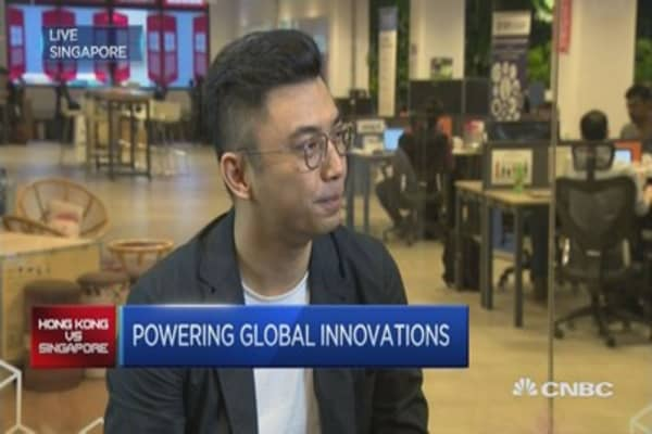 This Singaporean runs a Hong Kong-based VC