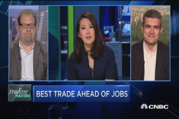 Trading Nation: Best trade ahead of jobs