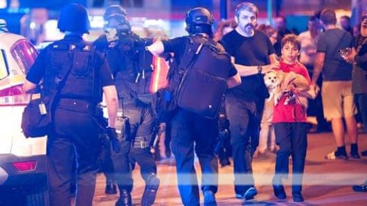Image result for 19 killed in suspected suicide attack at Ariana Grande concert in Britain
