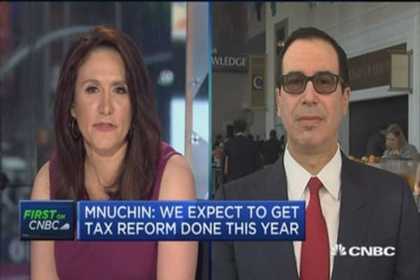 Treasury Secretary Mnuchin says Amazon's Bezos has 'really ...